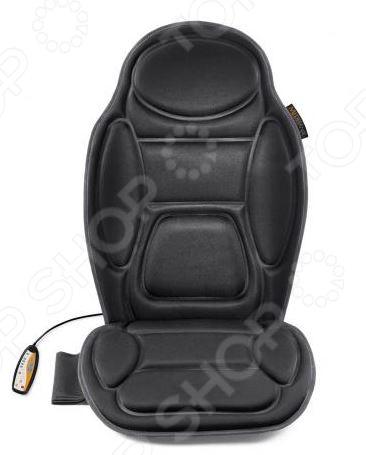Сиденье массажное Medisana MCHМассажные накидки на сидения<br>Массажное сиденье MCH имеет четыре массажные зоны для целенаправленного массажа. Они находятся в основных областях напряжения мышц плечи, спина, поясница, бедра . Для каждой зоны массажа можно настроить различные типы массажа с различной интенсивностью. Таймер автоматически отключает прибор по истечении выбранного времени 15, 30 или 60 минут.<br>