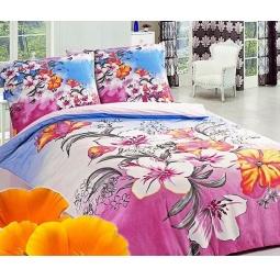 фото Комплект постельного белья Сова и Жаворонок «Шалунья». 2-спальный