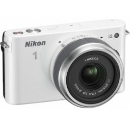 фото Фотокамера цифровая Nikon 1 J2 Kit 11-27.5mm VR. Цвет: белый