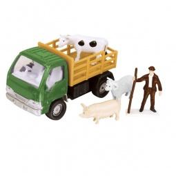 фото Набор игровой для мальчика HTI для перевозки животных «Фермерский». Цвет: зеленый