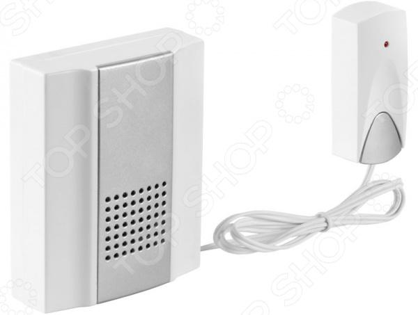 Звонок электрический с кнопкой Светозар «Нота» 58037