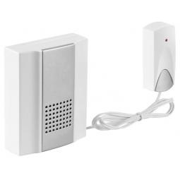 Купить Звонок электрический с кнопкой Светозар «Нота» 58037
