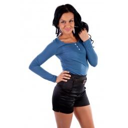 фото Кофта Mondigo 18494. Цвет: джинсовый. Размер одежды: 46