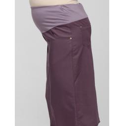 Купить Юбка для беременных Nuova Vita 6117.5. Цвет: пыльно-розовый