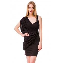 фото Платье Mondigo 8611. Цвет: коричневый. Размер одежды: 46
