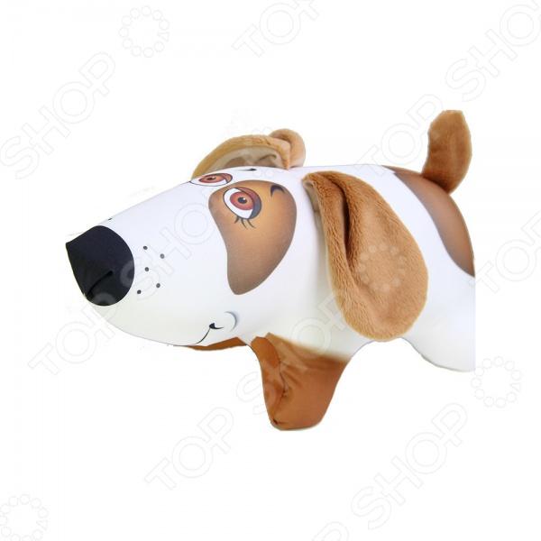 Игрушка-антистресс Штучки Собака Белка это отличная игрушка, которая поможет вам вернуть себе спокойствие и хорошее состояние духа. Главное достоинство изделия это осязательный массаж, который оказывает антидепрессивное и полезное воздействие. Поверхность гладкая, эластичная и прочная, сделана из трикотажного материала. Внутри находятся гранулы полистирола.