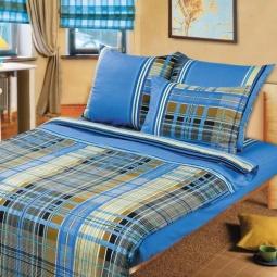 Купить Комплект постельного белья ТексДизайн «Шотландка». 1,5-спальный