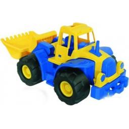 фото Машинка игрушечная Нордпласт «Трактор Богатырь с грейдером»