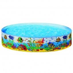 Купить Бассейн каркасный Подводный мир Intex 58461. В ассортименте