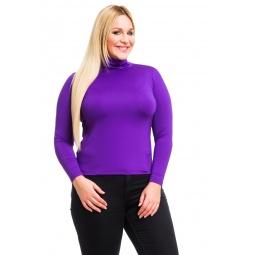 фото Водолазка Mondigo XL 204. Цвет: фиолетовый. Размер одежды: 50