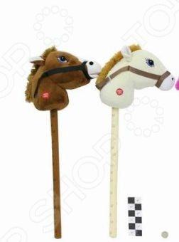 Лошадка-скакалка плюшевая Shantou Gepai 61059. В ассортименте