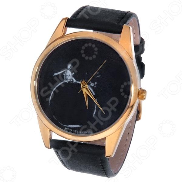 Часы наручные Mitya Veselkov «Маленький принц - силуэт» Gold браслеты для часов mitya veselkov ремешок для часов 18мм