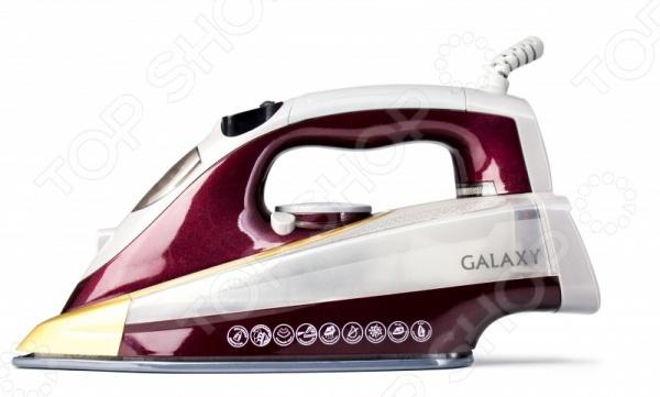 Утюг Galaxy GL 6122 Утюг Galaxy GL 6122 /Серый/Бордовый