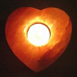 Купить Подсвечник солевой «Сердце»