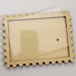 фото Заготовка деревянно-акриловая RTO «Марка»