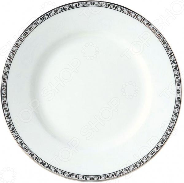 Тарелка суповая Esprado Arista WhiteСуповые тарелки<br>Сервировка как искусство Владение искусством кулинарии это умение не только вкусно готовить, но и красиво преподносить кулинарные шедевры. Очень важную роль играет, конечно же, посуда. Именно она является обрамлением блюда, его гармоничным продолжением. Посуда должна красиво дополнять пищу, подчеркивать ее аппетитность, изысканность и отменный вкус самой хозяйки. Тарелка суповая Esprado Arista White это идеальное решение для вашего стола. Изящное и практичное изделие, которое подойдет для сервировки самых разнообразных блюд: горячего, холодных закусок, фруктовых и овощных ассорти, кондитерских изделий, салатов, нарезок и пр.  Качественно, практично, красиво! Блюдо изготовлено из костяного фарфора, который обладает массой полезных свойств:  не содержит токсичных веществ и тяжелых металлов;  отлично взаимодействует с продуктами питания;  подходит для длительного хранения продуктов;  легко очищается от загрязнений;  выдерживает воздействие повышенных температур;  не впитывает запахи;  обладает красивейшей текстурой. Хозяйку порадуют не только достойные потребительские качества изделия, но и его великолепный дизайн. Бортики блюда представлены изящным монохромным орнаментом. Такая тарелка станет настоящим украшением обеденного стола. Коллекция посуды Arista изысканность и роскошь, элегантность и красота в одном флаконе. Все это умело воплощено талантливыми мастерами в столовой посуде от Esprado. Наслаждайтесь любимыми блюдами в кругу самых дорогих людей!<br>