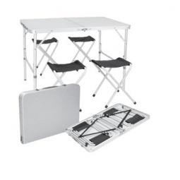 фото Набор для отдыха складной: стол и стулья Delta НТО-0003/5