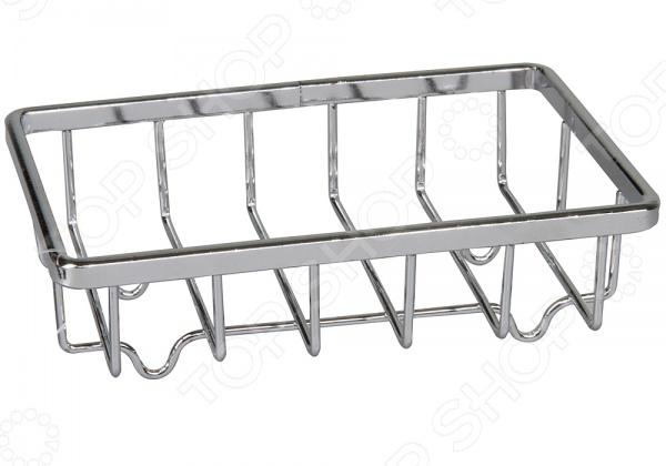 Мыльница Rosenberg 7409Аксессуары для ванной комнаты<br>Мыльница Rosenberg 7409 полезная вещь для ванной комнаты. Мыльницу можно самостоятельно установить на удобную для вас поверхность в ванной комнате устанавливать, желательно, на гладкие и чистые поверхности . Модель выполнена из высококачественного металла.<br>