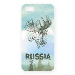 фото Чехол для iPhone 5 Mitya Veselkov «Лось»