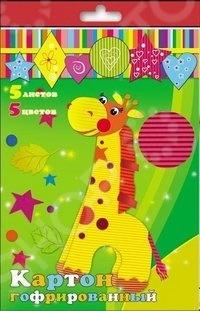 Набор картона цветного гофрированного Феникс 24398