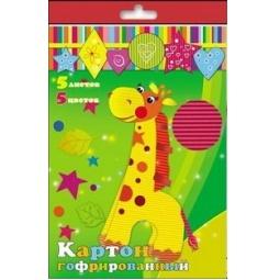 фото Набор картона цветного гофрированного Феникс 24398