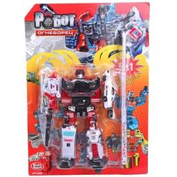 фото Игрушка-трансформер PlaySmart «Робот. Огнеборец»
