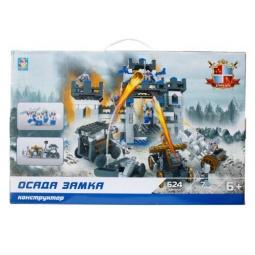 Купить Конструктор игровой 1 Toy «Рыцари. Осада замка»
