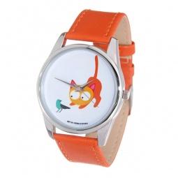 фото Часы наручные Mitya Veselkov «Кошка и птичка»