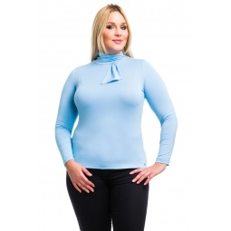 фото Водолазка Mondigo XL 7013. Цвет: голубой. Размер одежды: 50