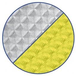 фото Комплект полотенец Loks. Цвет: желтый, белый