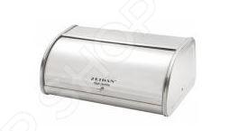 Хлебница с ножом для хлеба Zeidan Z-1180 подходит для хранения любых видов хлебобулочных изделий: белого и черного хлеба, булочек, батонов, печенья и другой выпечки. В такой хлебнице продукты не будут засыхать и заветриваться. Хлебница изготовлена из высококачественного материала и хранить в ней продукты абсолютно безопасно для здоровья. Хлебница в таком стильном дизайне гармонично дополнит интерьер вашей кухни. В подарок к хлебнице вы получите качественный нож для нарезки хлеба.