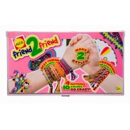 Купить Набор для плетения браслетов ALEX «Для друга»