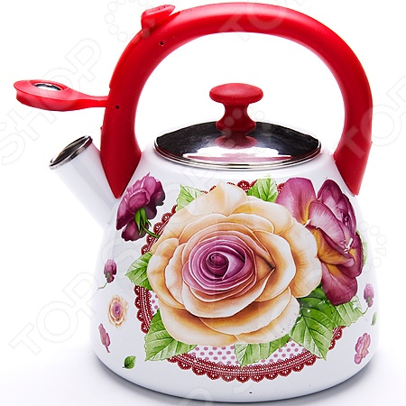 Чайник со свистком Mayer&Boch MB-23938 «Розы»