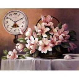 фото Картина-триптих Феникс-Презент «Корзина с цветами»