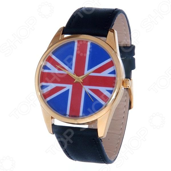 Часы наручные Mitya Veselkov «Британский флаг» Gold часы наручные mitya veselkov now gold