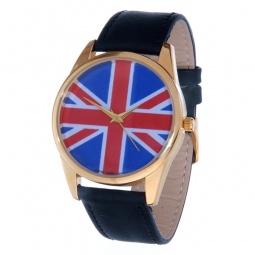 фото Часы наручные Mitya Veselkov «Британский флаг» Gold