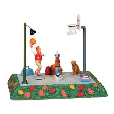 Купить Фигурки керамические Lemax «Баскетбольная площадка: Один на один»