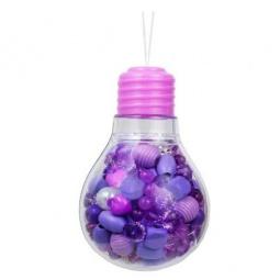фото Набор для создания украшений Bead Bazaar «Фиолетовая лампочка»