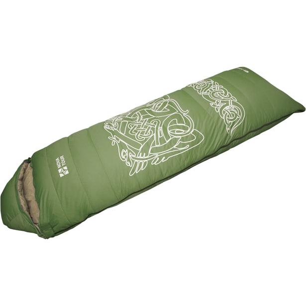 фото Спальный мешок NOVA TOUR «Альбаган». Расположение молнии: левостороннее. Цвет: зеленый