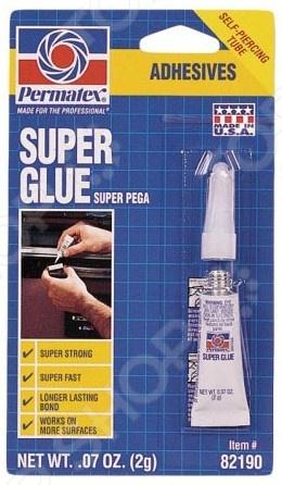 Суперклей универсальный Permatex PR-82190 Super Glue permatex stripped thread в новосибирске