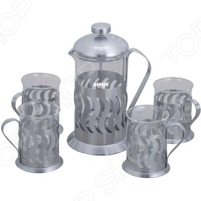 Чайник заварочный Чайно-кофейный набор Bekker BK-367 DeLuxe