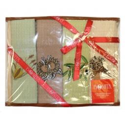 Купить Комплект из 4-х вафельных полотенец подарочный Bonita