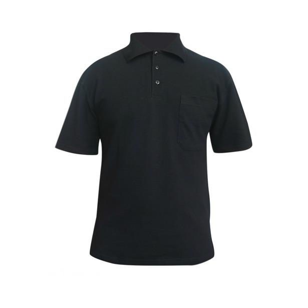 фото Поло мужское Dodogood М287. Цвет: черный. Размер одежды: 48