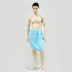 фото Накидка вафельная Банные штучки для мужчин. В ассортименте