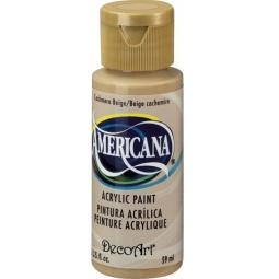 фото Краска акриловая DecoArt Премиум Americana. Цвет: бежевый кашемир