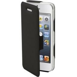 фото Чехол и пленка на экран Muvit iFlip Folio Case для iPhone 5. Цвет: черный