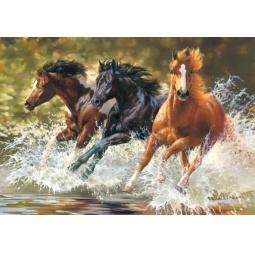 Купить Пазл 500 элементов Castorland «Лошади»