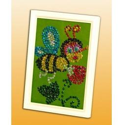 Купить Мозаика из пайеток Волшебная мастерская «Пчелка»
