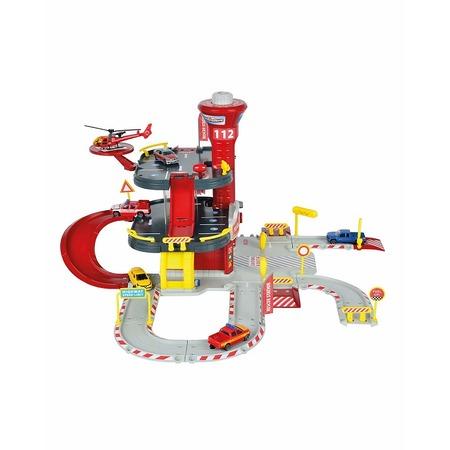 Купить Набор игровой для мальчика Majorette «Парковка пожарная станция» Creatix