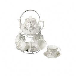 фото Чайный набор на подставке Grazie «Нежность» с чайником